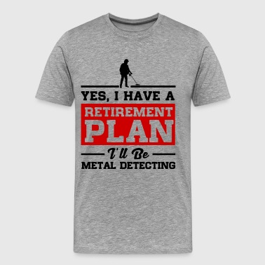 Metal Detecting - Men's Premium T-Shirt