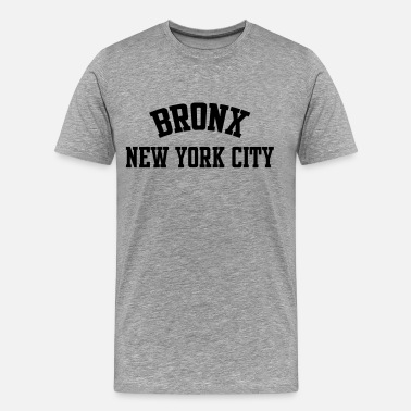 Bronx BRONX, NEW YORK CITY - Men's Premium T-Shirt
