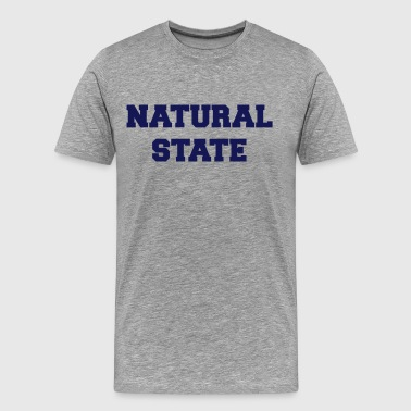 arkansas natural state - Men's Premium T-Shirt