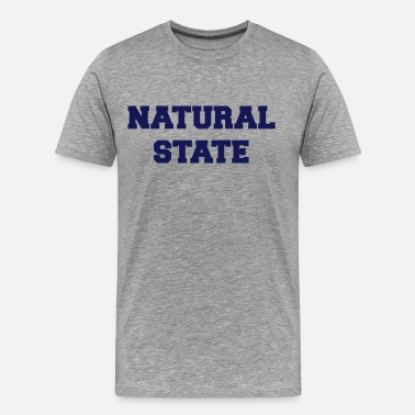 Arkansas State arkansas natural state - Men's Premium T-Shirt