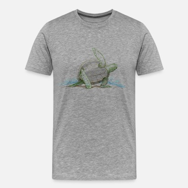 And Being A Nurse Yoga Turtle - Men's Premium T-Shirt