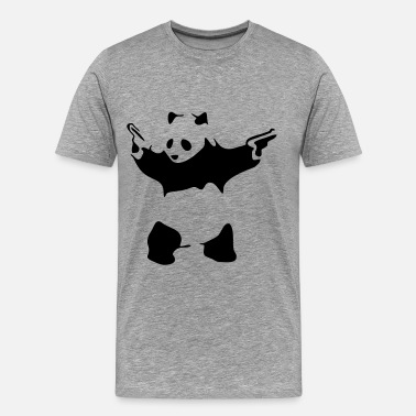 4xl Beasts Hardcore Panda - Men's Premium T-Shirt