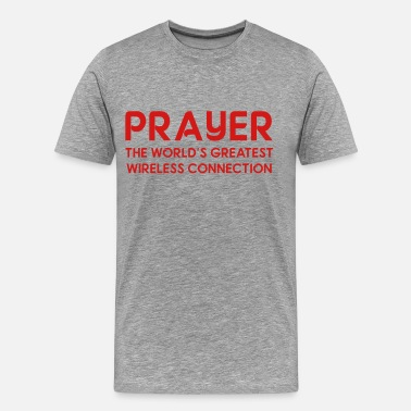 Fuck Connection PRAYER - Men's Premium T-Shirt