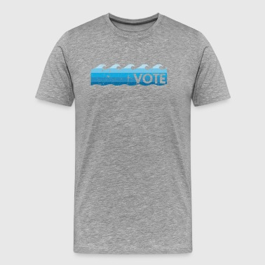 Blue Wave Vote - Men's Premium T-Shirt