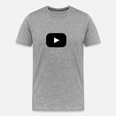 Youtube YouTube Style Play Button - Men's Premium T-Shirt