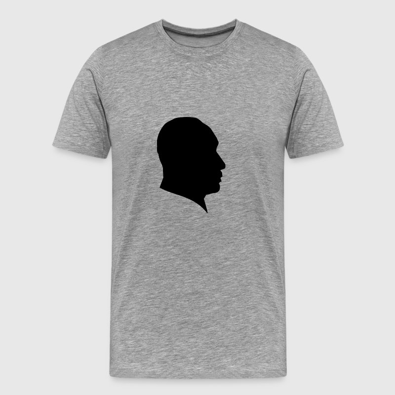 MLK SILHOUETTE MARTIN LUTHER KING JR. - Men's Premium T-Shirt