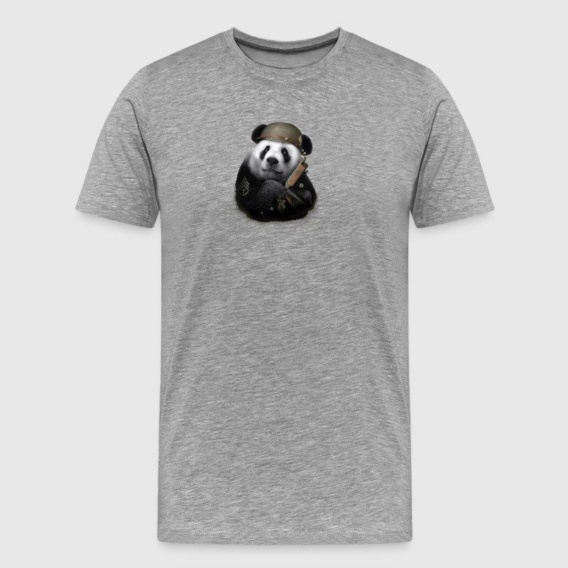 Panda Soldier - Men's Premium T-Shirt