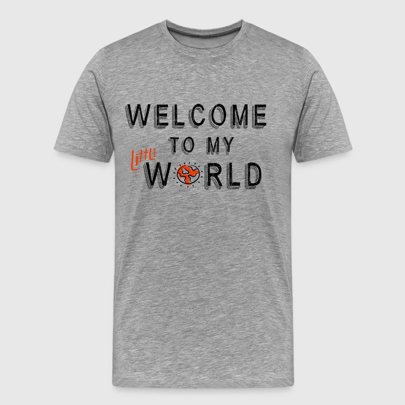 Welcome to my little tribe - Men's Premium T-Shirt