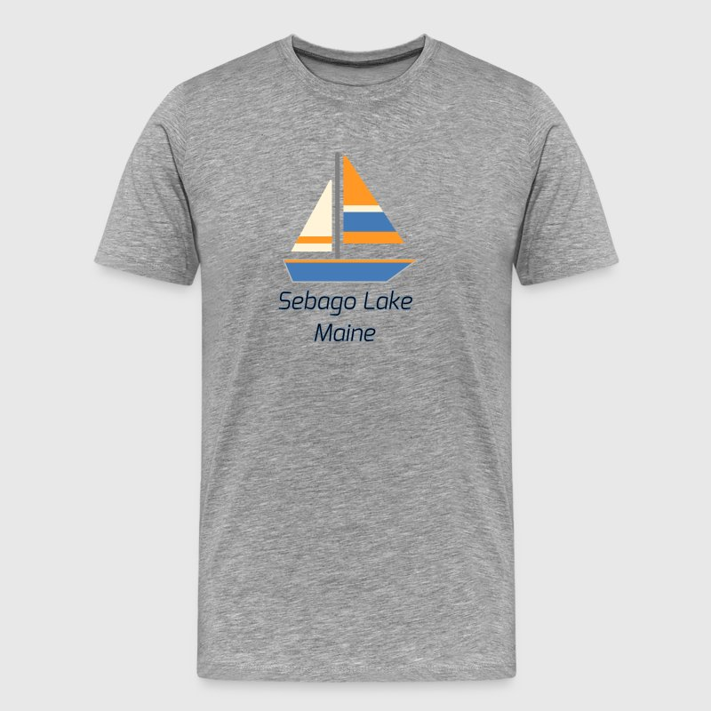 Sebago Lake - Men's Premium T-Shirt