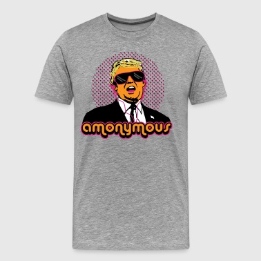 Trump Amonymous - Men's Premium T-Shirt
