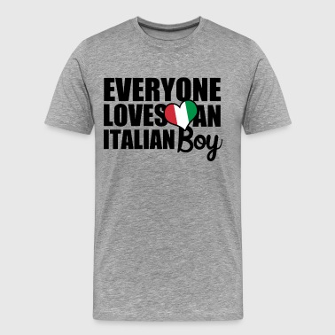Italian Boy - Men's Premium T-Shirt