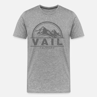 Skiing Vail Vail Colorado - Men's Premium T-Shirt