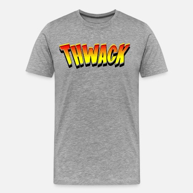 Comic Book Thwack - Comic Book Sound - Men's Premium T-Shirt