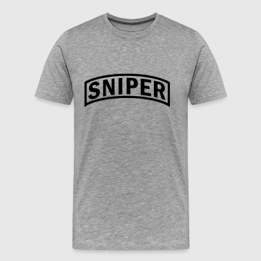 Sniper Police Department us_army_rangers_sniper - Men's Premium T-Shirt