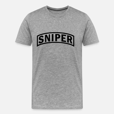 Special Forces Ranger us_army_rangers_sniper - Men's Premium T-Shirt