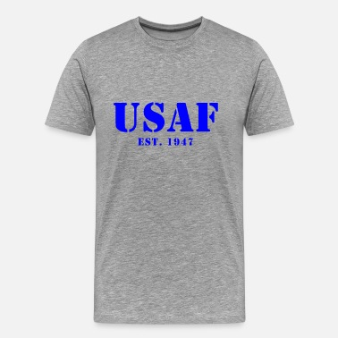 Air Force Veteran US Air Force Est Design - Men's Premium T-Shirt