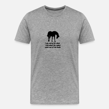 Horseback Riding horse - Men's Premium T-Shirt