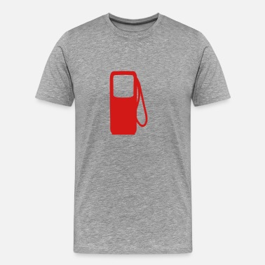 Fuel gasoline diesel fuel pump - Men's Premium T-Shirt