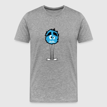 HAppy Feet Monster - Men's Premium T-Shirt