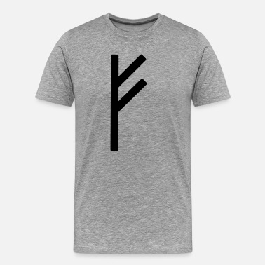 Runic Fé Runic Wealth - Men's Premium T-Shirt