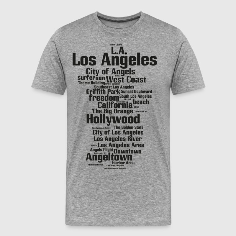 Los Angeles (L.A. Angeltown, City of Angels) - Men's Premium T-Shirt