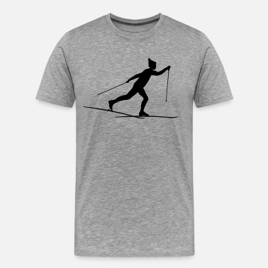 Cross Country Skiing Cross country skiers Cross country - Men's Premium T-Shirt