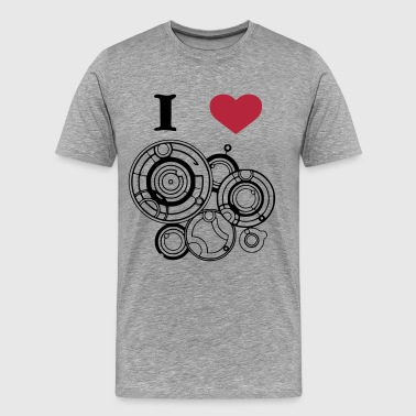 River Song I heart River Song - Men's Premium T-Shirt