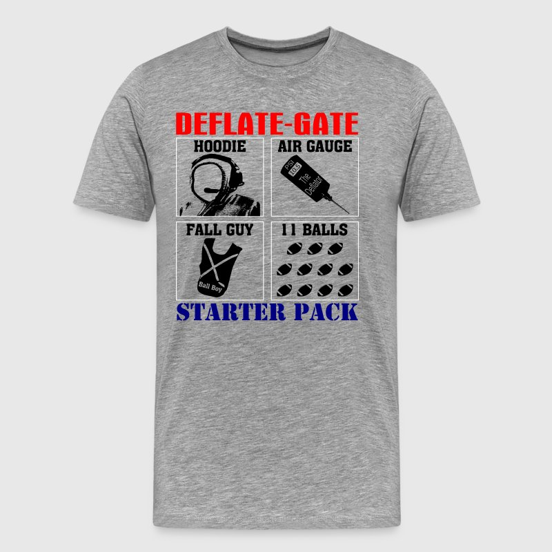 Deflategate Starter Pack T-Shirts Hoodies - Men's Premium T-Shirt