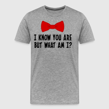 Pee Wee Big Adventure Pee Wee Herman - I Know You Are But What Am I? - Men's Premium T-Shirt