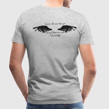 On the side of the angels - Men's Premium T-Shirt