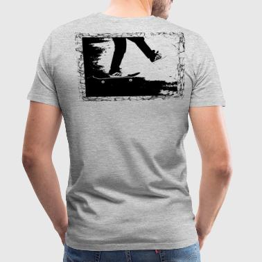 Skateboards Skateboard - Men's Premium T-Shirt