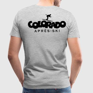 Colorado Après-Ski  - Men's Premium T-Shirt