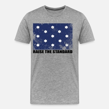 George Washington Flag George Washington Flag - Raise The Standard - Men's Premium T-Shirt