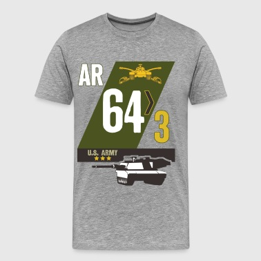 3/64 Armor - Men's Premium T-Shirt