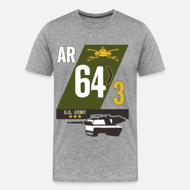 64th Armor 3/64 Armor - Men's Premium T-Shirt