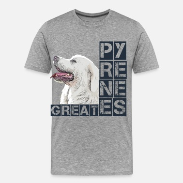 Dog Fan Great Pyrenees - Men's Premium T-Shirt
