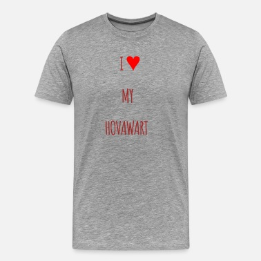 Hovawart I love my Hovawart dog gift giftidea - Men's Premium T-Shirt