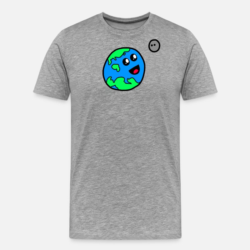 Christopher T-Shirts - Planet Christopher and Moonie - Men's Premium T-Shirt heather gray