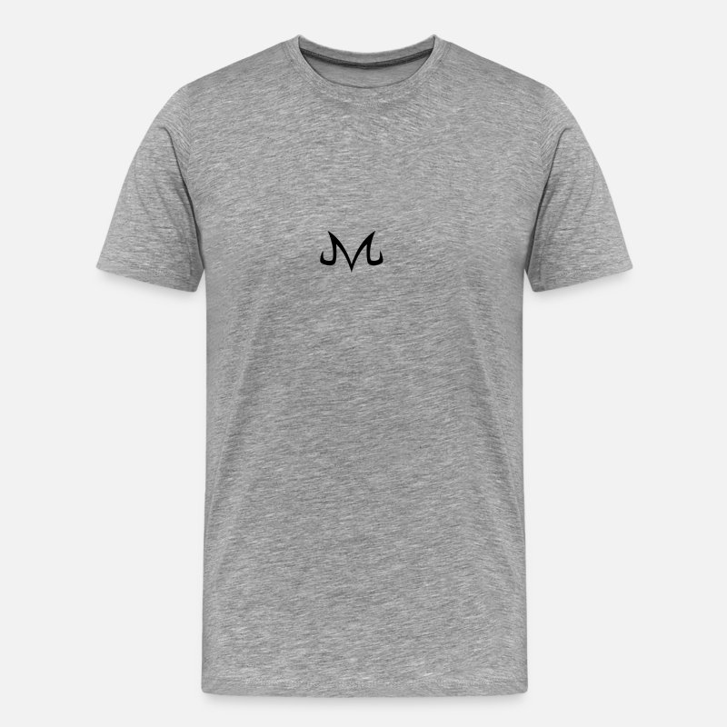 Symbol  T-Shirts - majin symbol - Men's Premium T-Shirt heather gray