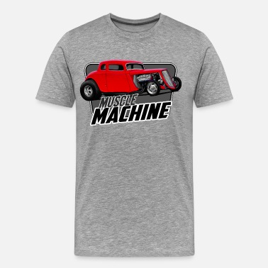 Muscle Machine Muscle Coupe - Men's Premium T-Shirt