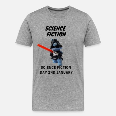 Science Fiction Day on 2nd January gift idea - Men's Premium T-Shirt