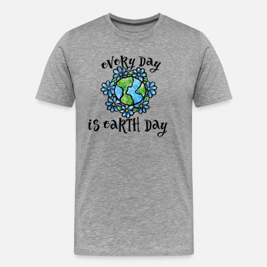 Hour Every Day is Earth Day - Men's Premium T-Shirt