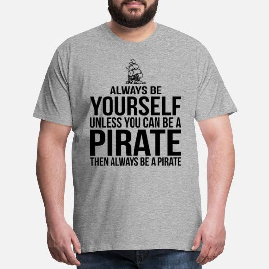 Always be Yourself Unless You Can be a Pirate Womens Baseball Top