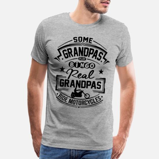 Custom Made T Shirt My Grandpa/'s Motorcycle Is Cooler Than Your Grandpa/'s Funny