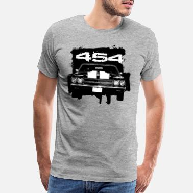 Chevelle Muscle Car Front - Men's Premium T-Shirt