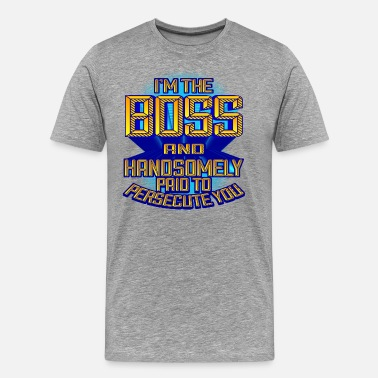 Hr Manager Boss Supervisor Manager Gift - Men's Premium T-Shirt