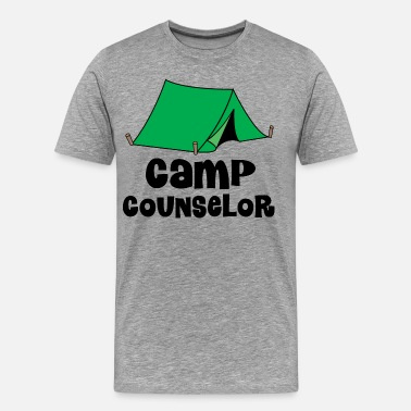 aa4cbda71ef7 Camp Counselor Gift Camp Counselor Camping Staff - Men s Premium T-Shirt