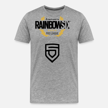 R6 Penta Sports Rainbow Six Siege Pro League - Men's Premium T-Shirt