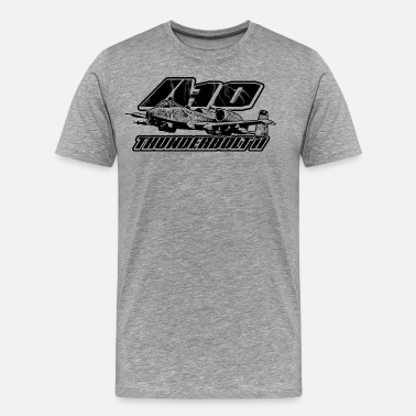 Blueprint A-10 Thunderbolt II - Men's Premium T-Shirt