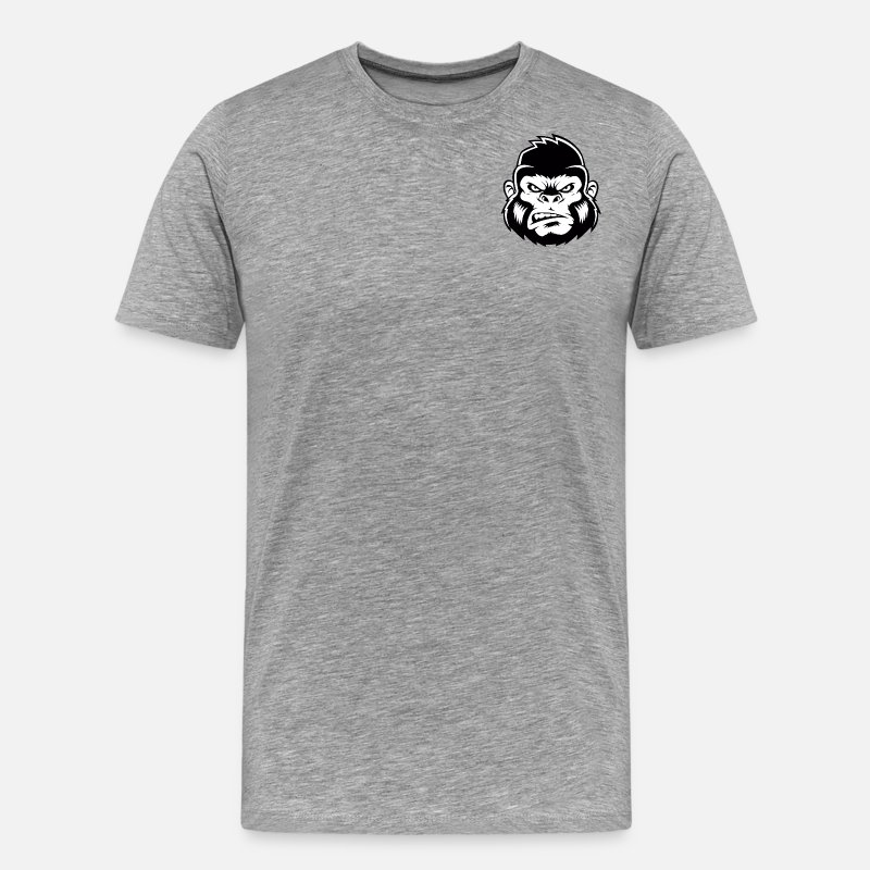 Gorilla T-Shirts - APE Esports - Men's Premium T-Shirt heather gray